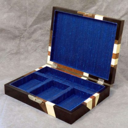 Cufflink Box in Jack on Black