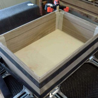Making Fine Boxes by Gluing Mitre Joints on Walnut Box