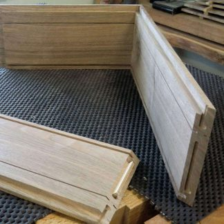 Splined Mitre Joints for Walnut