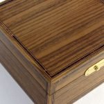 Small Valet Box in American Black Walnut and Kingwood