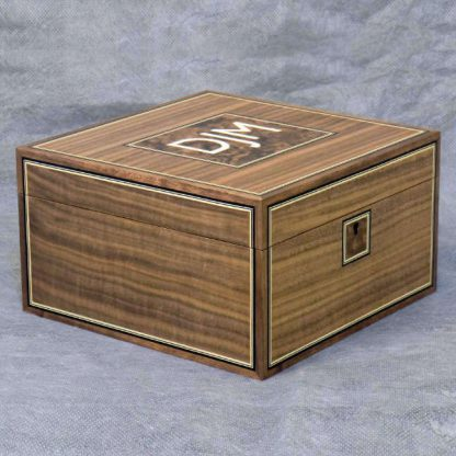 Watch Box in American Black Walnut and Sycamore