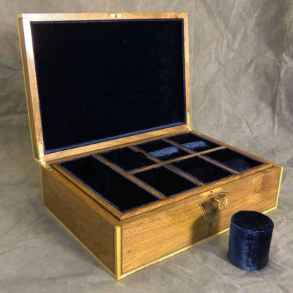 Watch Box in European Walnut and Sycamore
