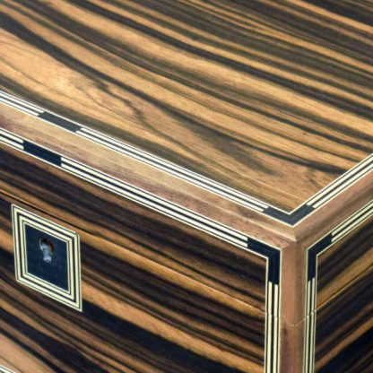 Watch Box in Macassar Ebony and Sycamore
