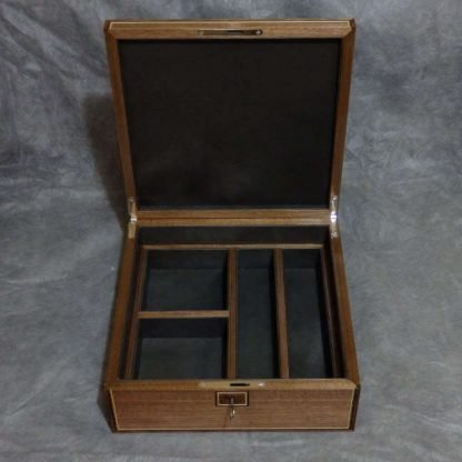 Watch Box in Walnut and Sycamore